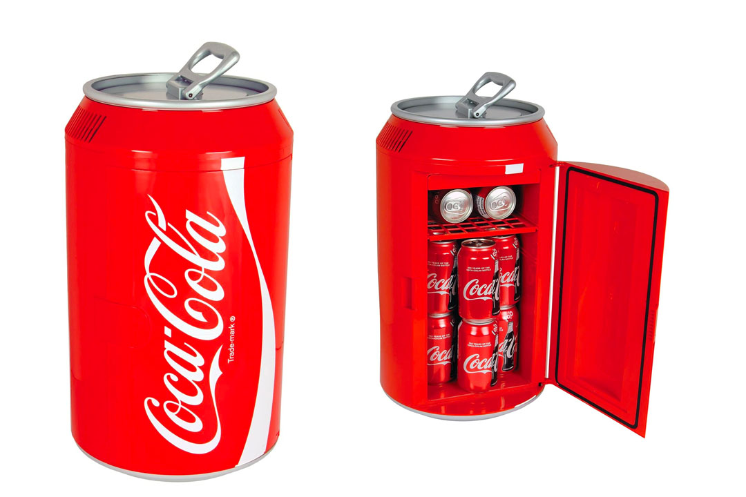 Coca Cola CC10G 12-Can Capacity Can Shaped 12V DC Car and 110V AC Cooler