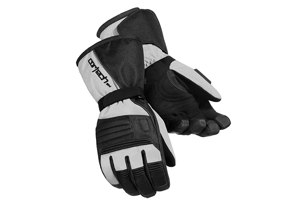 Cortech Journey 2.1 Men's Snowboard Snowmobile Gloves - Silver/Black