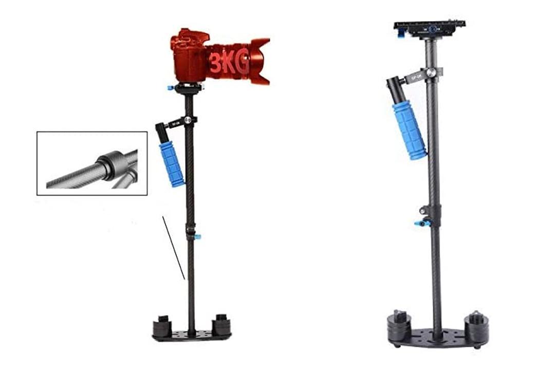 DSLR Steadicam SUTEFOTO Pro Adjustable Handheld Carbon Fiber glidecam Video Camera Stabilizer steady