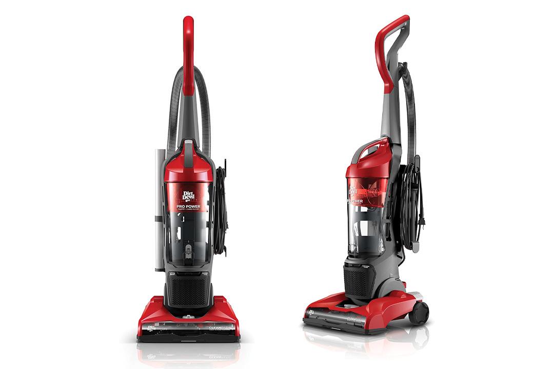 Dirt Devil Vacuum Cleaner Pro Power Bagless Corded Upright Vacuum