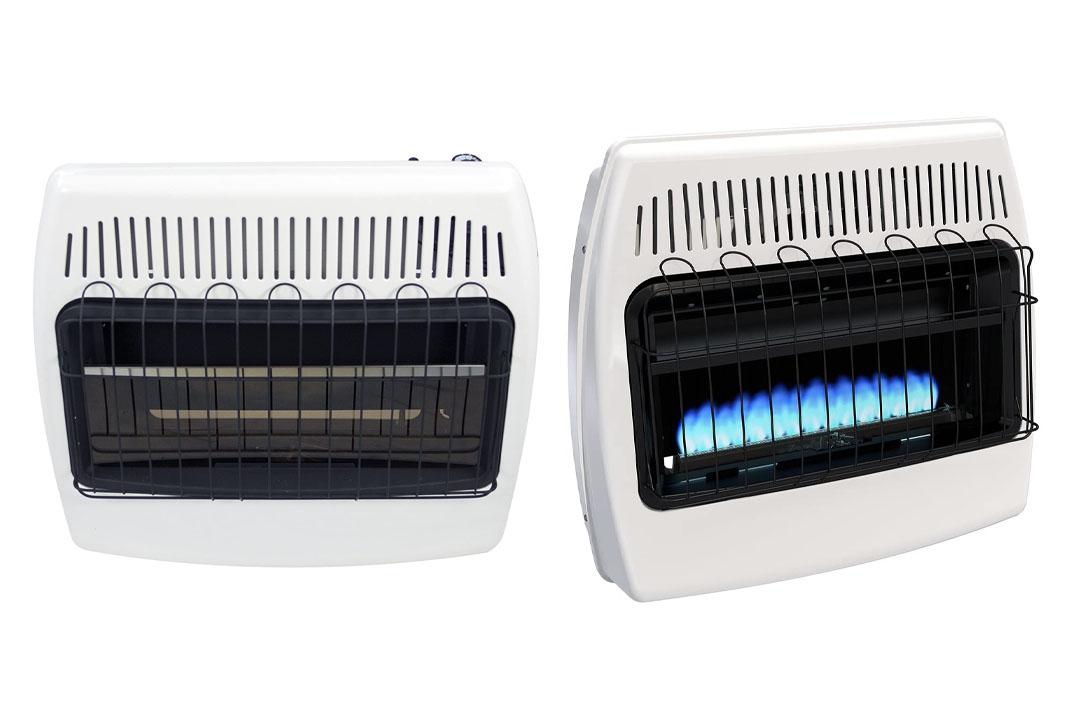 Dyna-Glo BF30PMDG 30,000 BTU Liquid Propane Blue Flame Vent-Free Wall Heater