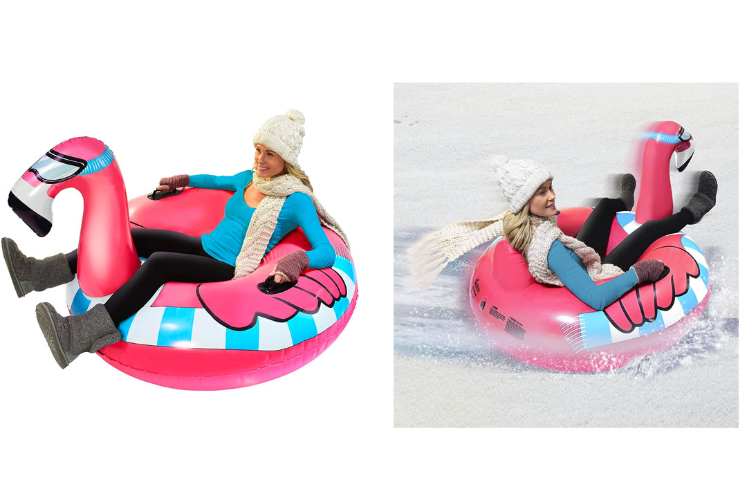GoFloats Winter Snow Tube - The Ultimate Sled & Toboggan