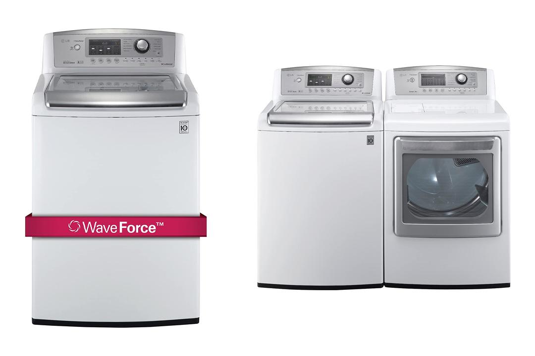 LG H/E Ultra Large Capacity Laundry Pair