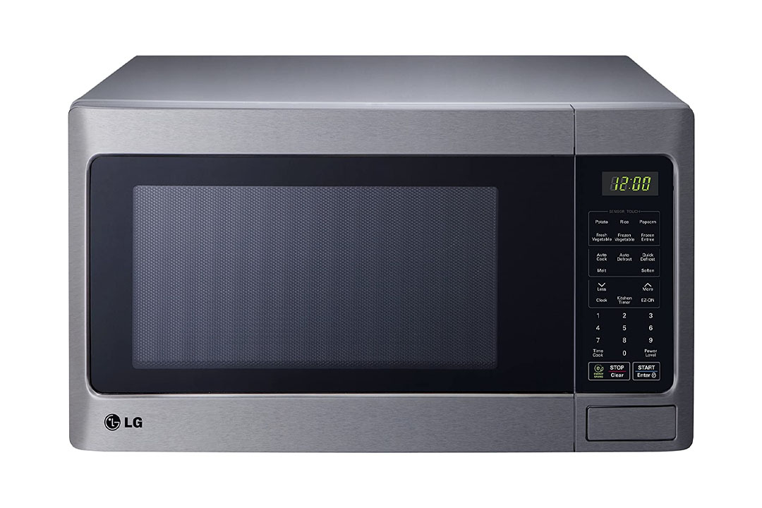 LG LCRT1513ST Countertop Microwave Oven, 1100-watt, Stainless Steel