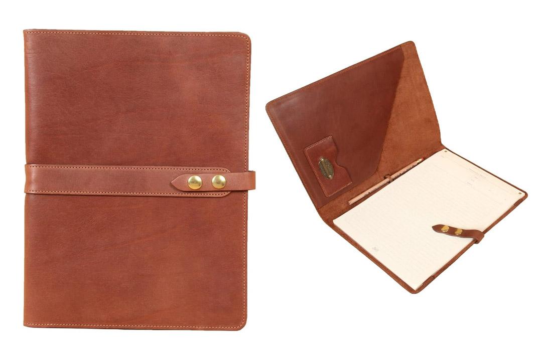 Leather Business Portfolio Notebook Folio