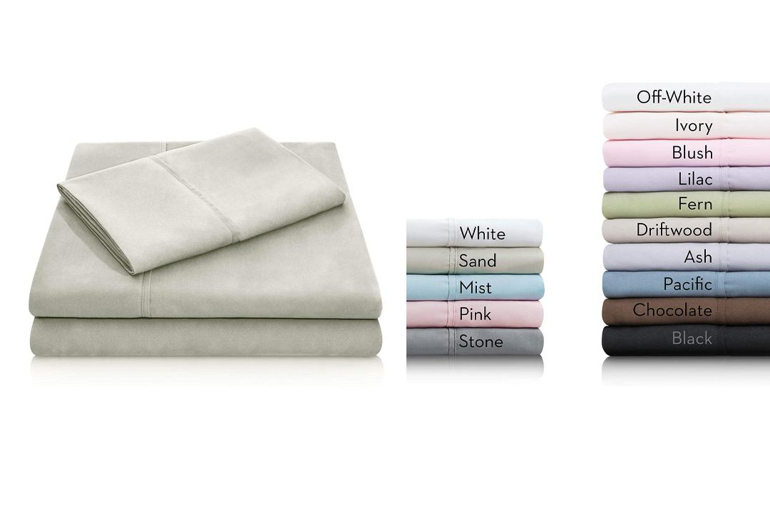 MALOUF Double Brushed Microfiber Super Soft Luxury Bed Sheet Set – Wrinkle Resistant