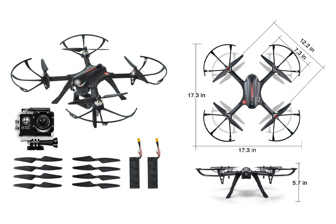 MYSTERYSTONE RC Quadcopter Drone
