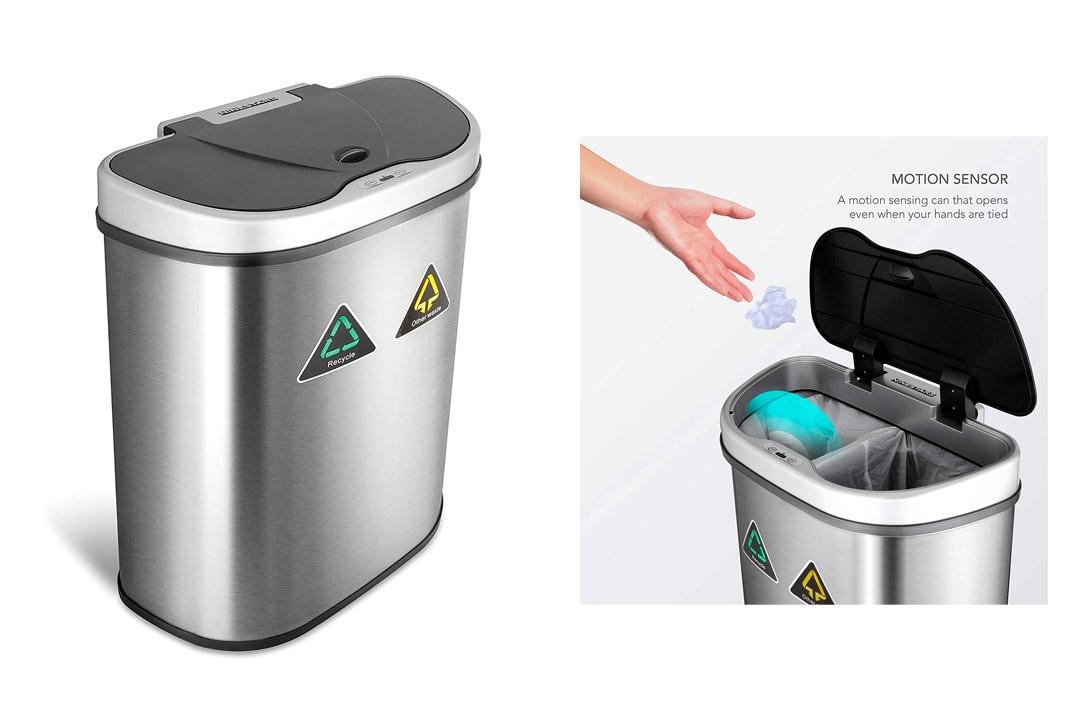 Nine Stars Trash Can/Recycler