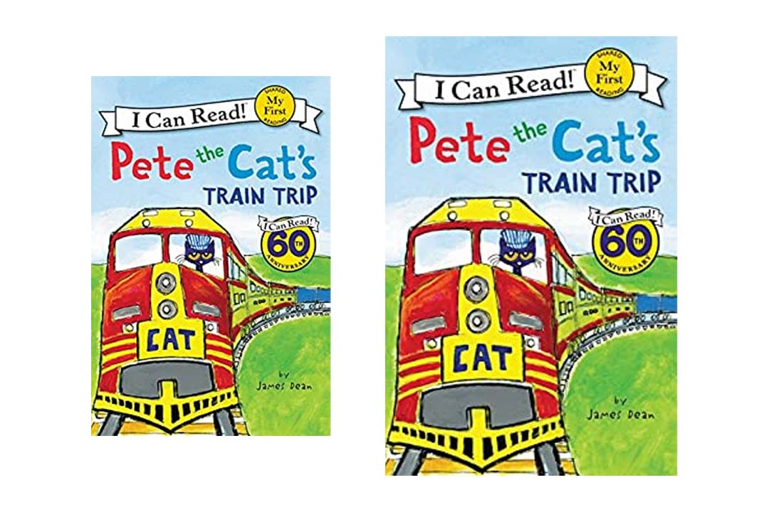 Pete the Cat's Train Trip (My First I Can Read) by James Dean (Author, Illustrator)