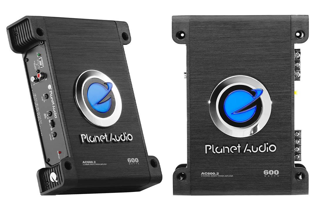 Planet Audio AC600.2 Anarchy 600 Watt Bridgeable, MOSFET Car Amplifier