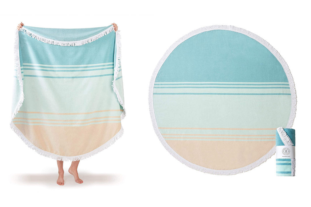 Plush Cabana Beach Towel