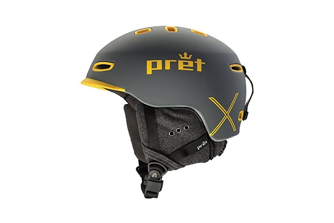 Pret Helmets Cynic X Helmet Rubber Rock Grey, S