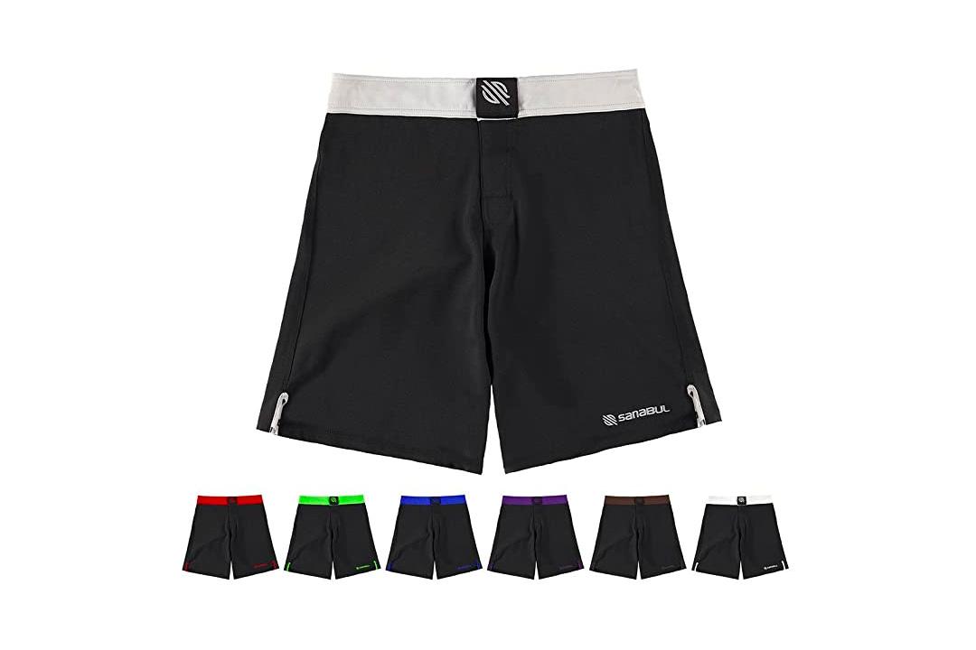Sanabul Essential MMA BJJ Cross Training Workout Shorts