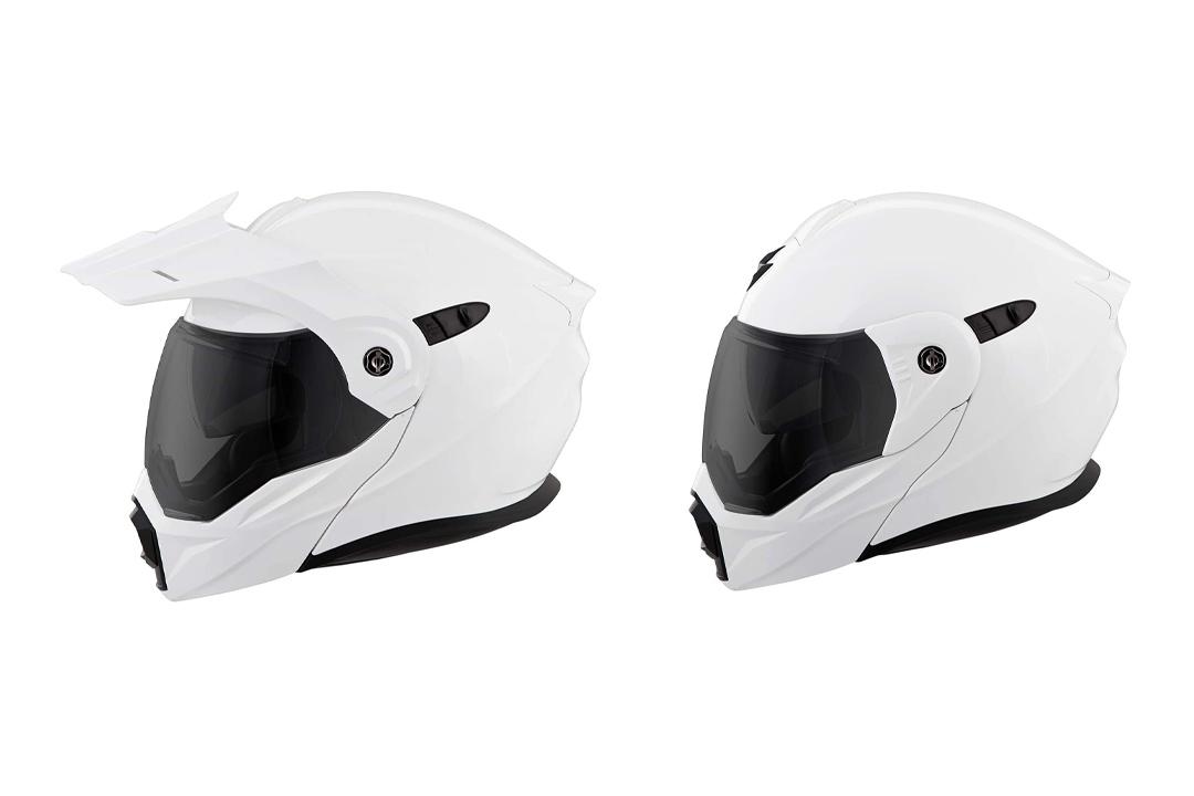 ScorpionEXO Unisex-Adult Modular/Flip Up Adventure Touring Motorcycle Helmet