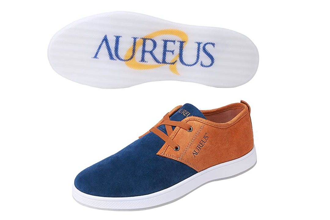Sundar Pichai: Aureus Men's Evolutio Nubuck Leather Low Top Boat Shoe