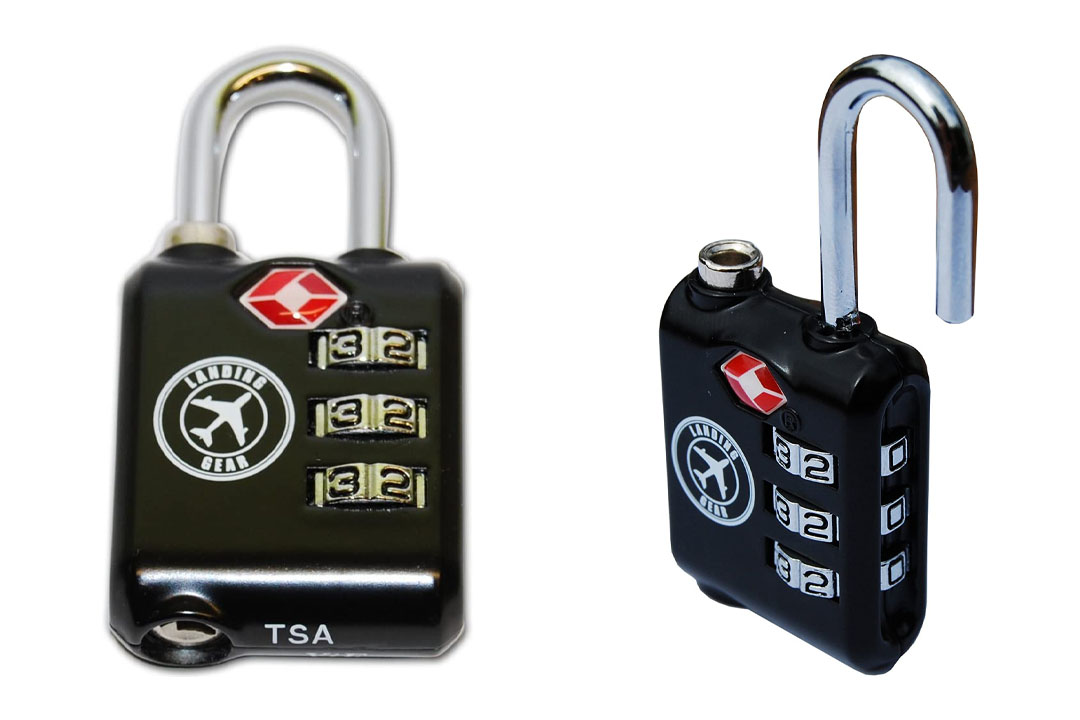 PEAK Gear Heavy Duty TSA Lock