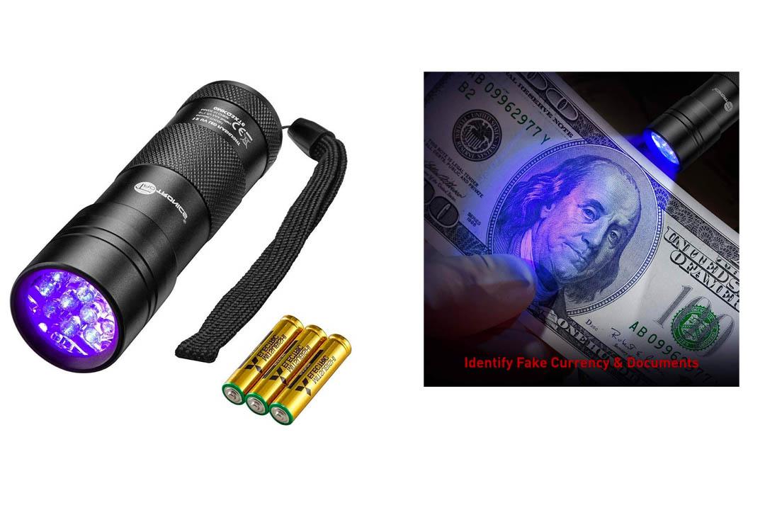 TaoTronics Black Light, UV Blacklight Flashlights