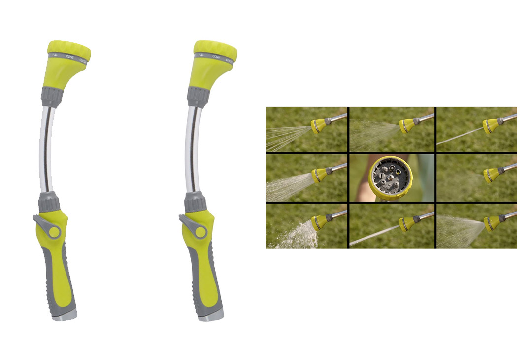 The Relaxed Gardener Watering Wand Garden Hose Nozzle/Sprayer