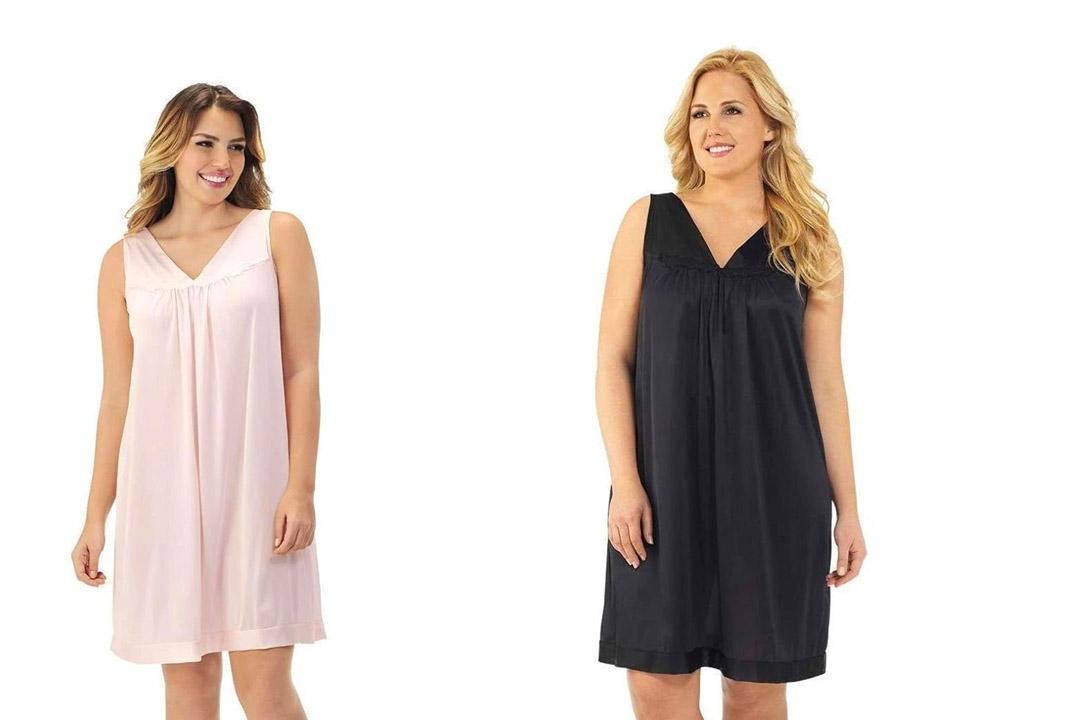 Vanity Fair Women's Coloratura Short Gown #30107