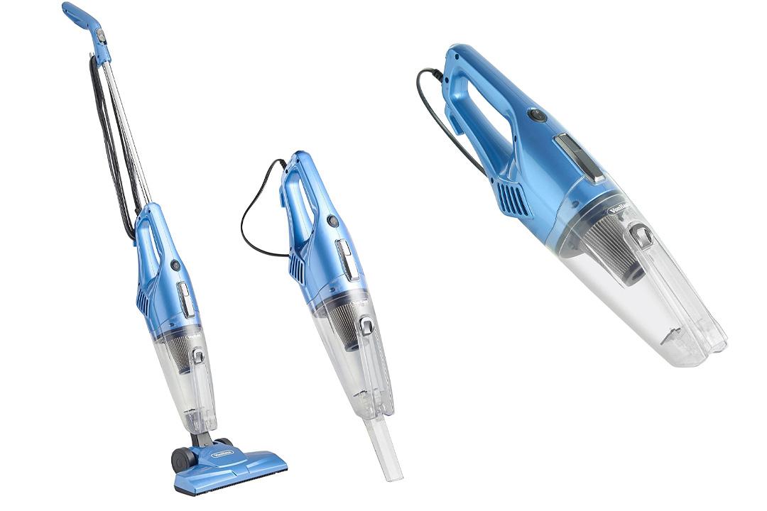 VonHaus 2 in 1 Corded Upright Stick & Handheld Vacuum Cleaner