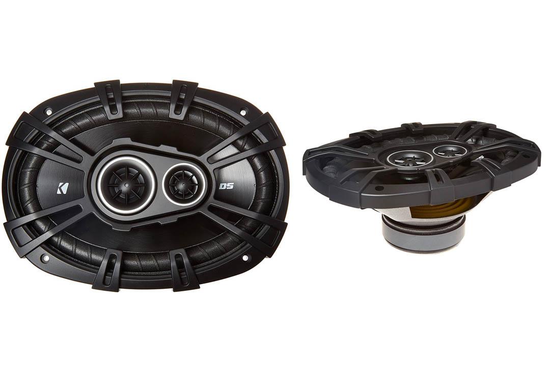 "2) New Kicker 43DSC69304 D-Series 6x9"" 360 Watt 3-Way Car Audio Coaxial Speakers"