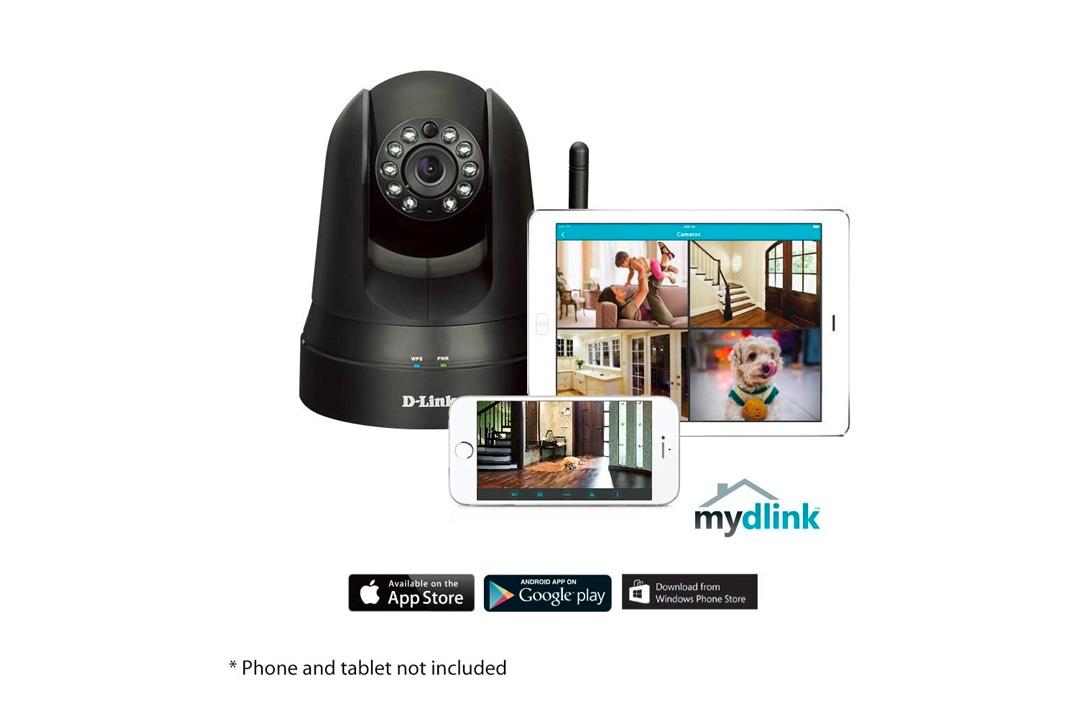 D-Link Wireless Pan & Tilt Day/Night Network Surveillance Camera