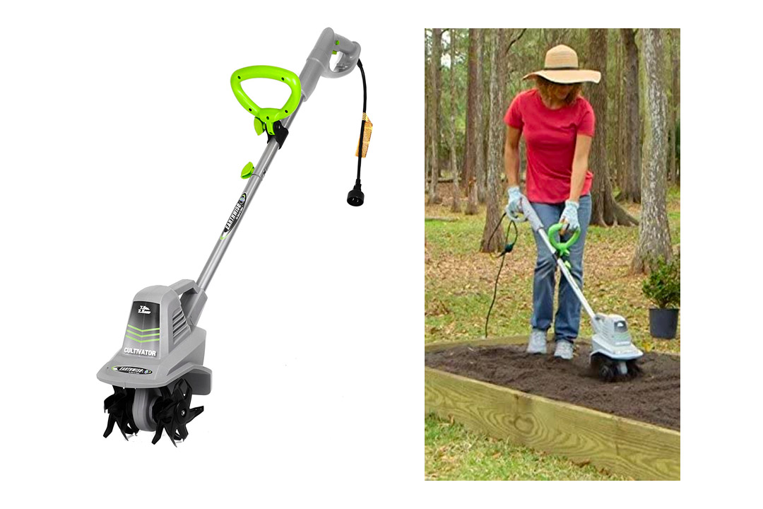 Earthwise TC70025 7.5-Inch 2.5-Amp Corded Electric Tiller/Cultivator