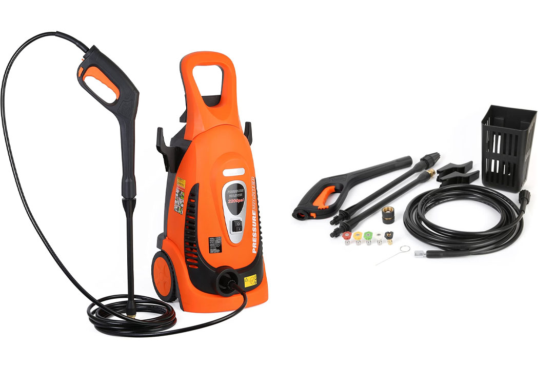 Ivation Electric Pressure Washer 2200 PSI 1.8 GPM