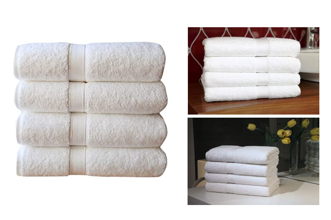 Linum white Towel