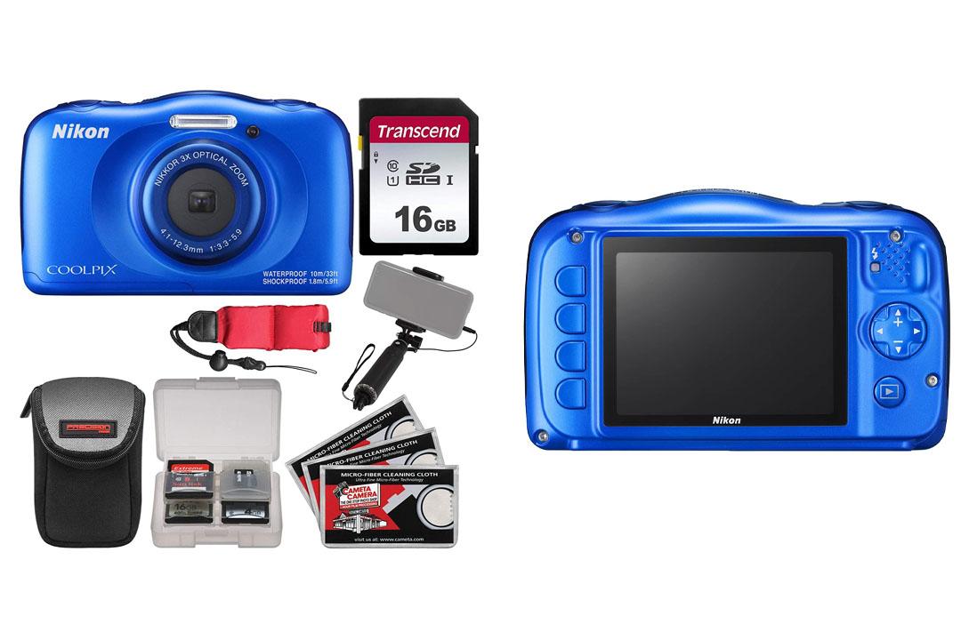 Nikon Coolpix W100 Wi-Fi Shock & Waterproof Digital Camera