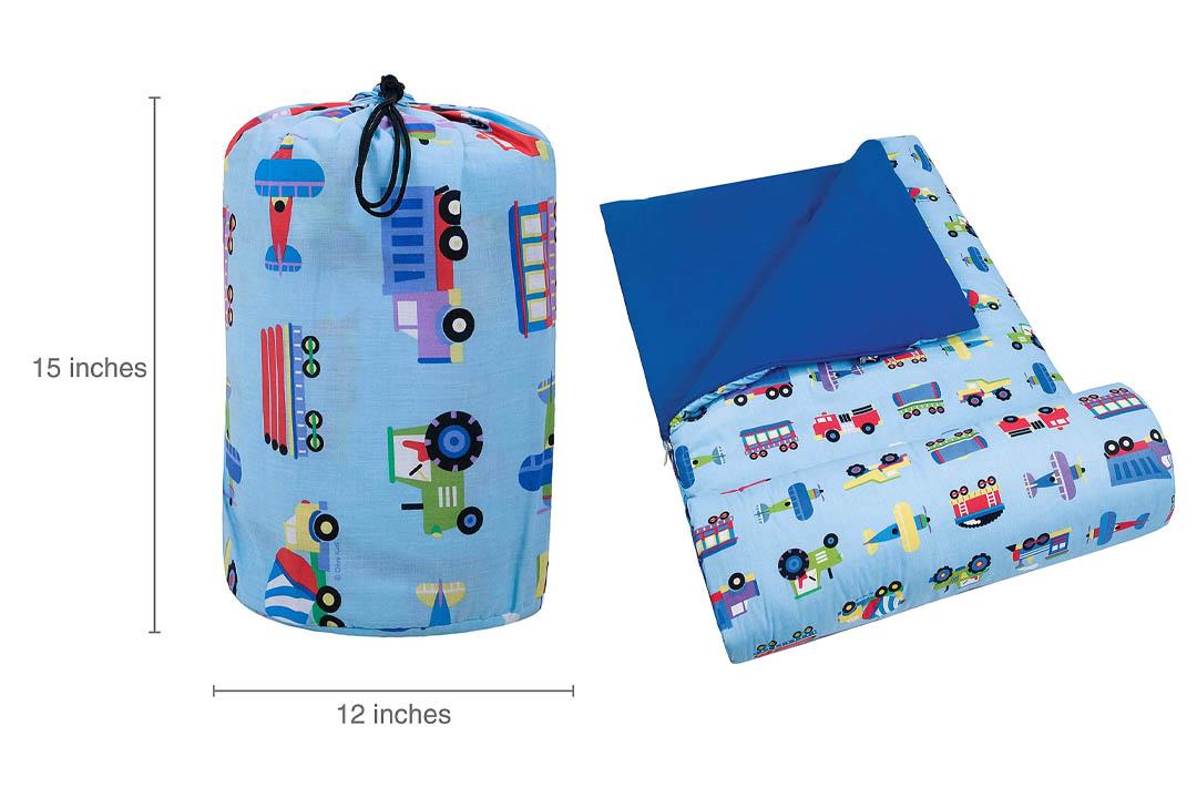 Olive Kids Planes, Trains, & Trucks Original Sleeping Bag