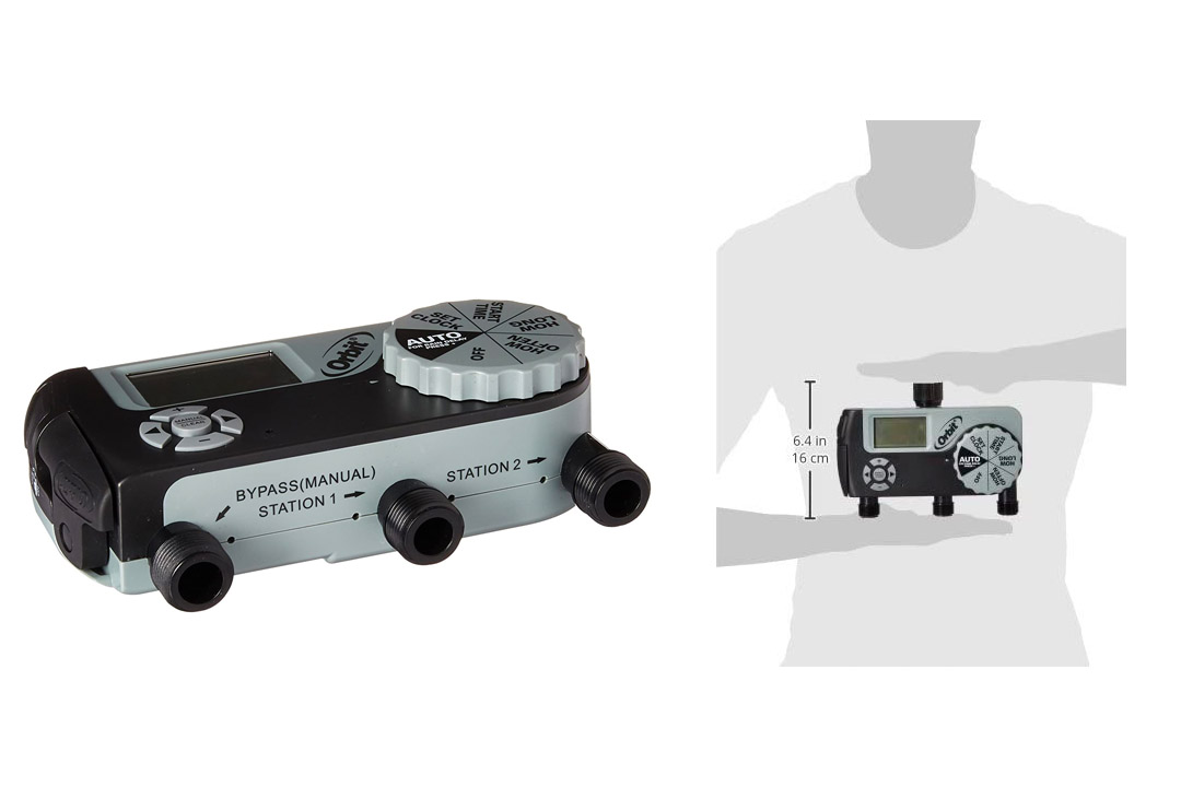 Orbit 56233D 3-Outlet Digital Watering Timer (1 Manual/2 Digital)