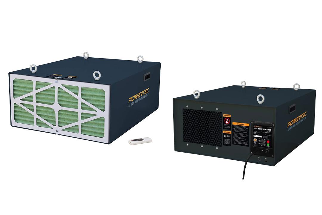 POWERTEC AF1044 Air Filtration System
