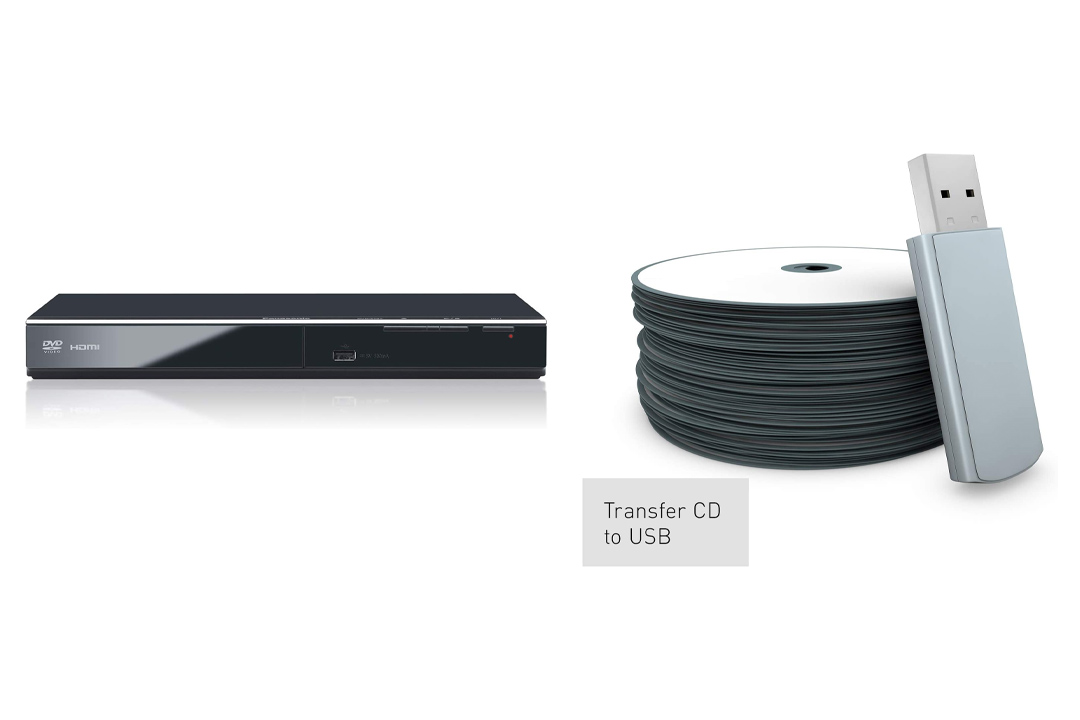 Panasonic DVD Player DVD-S700 (Black) up converts DVDs to 1080p Detail,