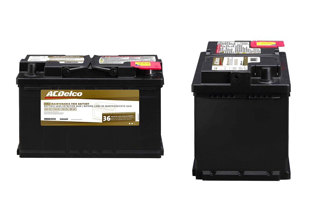 Professional AGM Automotive Battery