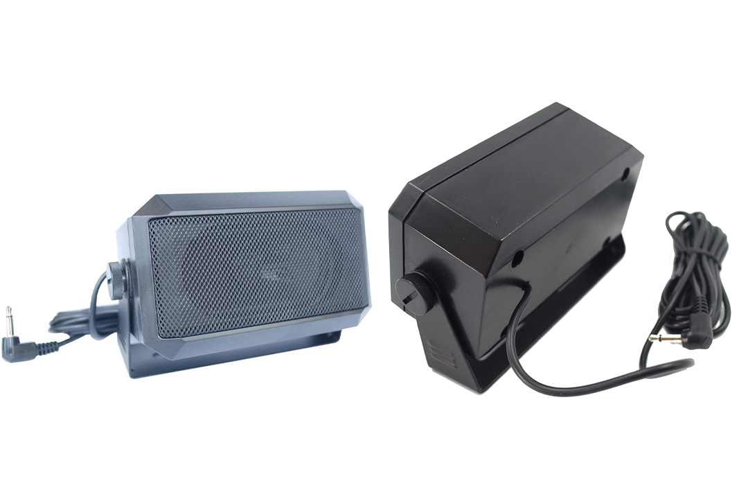 Rectangular 3.5mm plug 5W external speaker/CB speaker for Ham Radio, CB and Scanners TRD550
