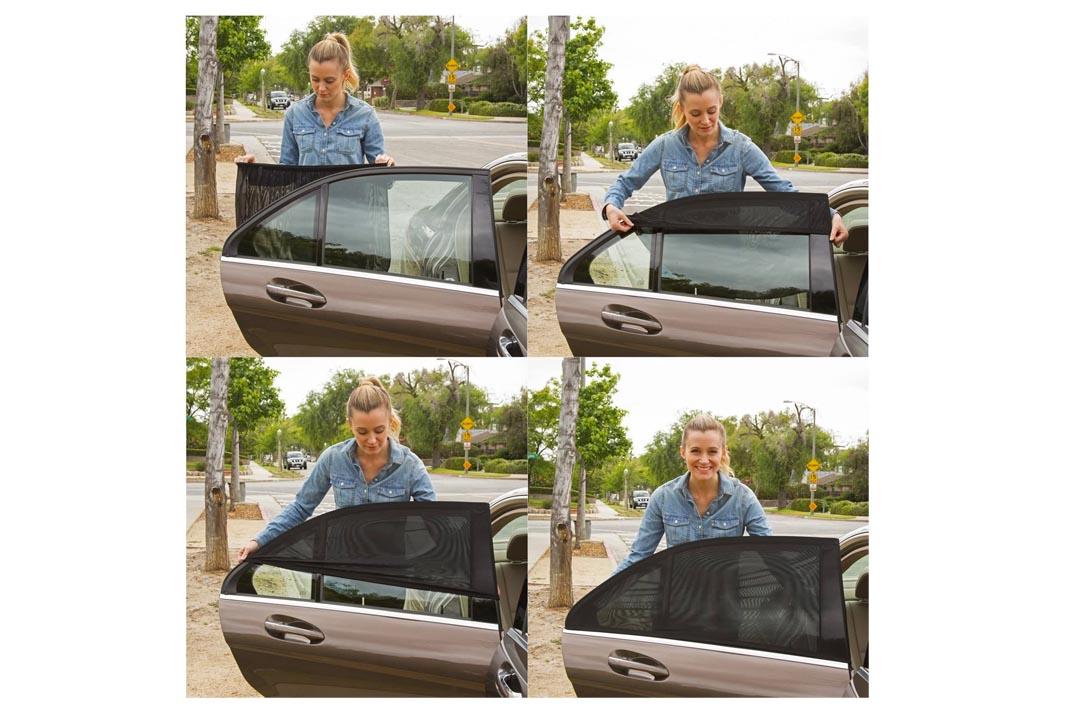 ShadeSox Universal Fit Car Side Window Baby Sun Shade