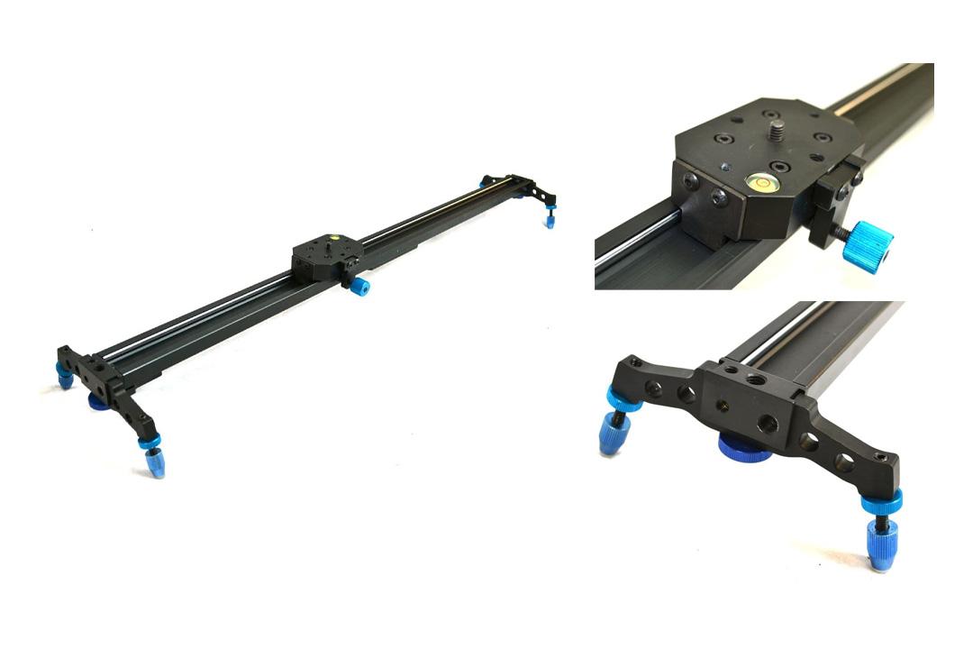"StudioFX 48"" Pro DSLR Camera Slider Dolly Track Video Stabilizer by Kaezi"