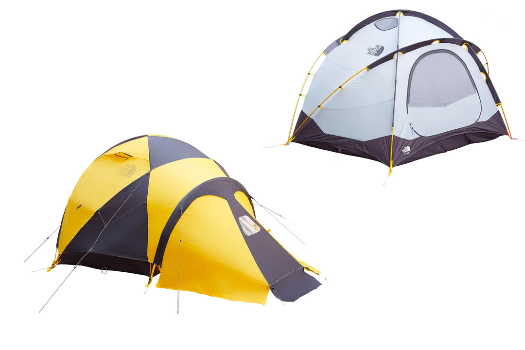 The North Face VE 25 3P Tent - One Size - Summit Gold/Asphalt Gre