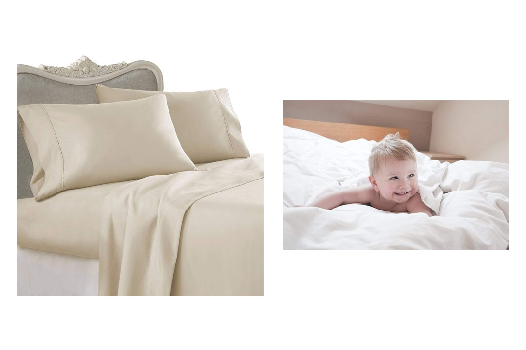 Utopia Bedding Fitted Sheet, 100% Cotton