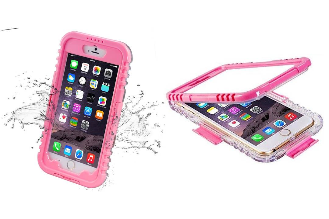 iPhone 6 Plus Waterproof Case, iThroughTM Waterproof, Dust Proof, Snow Proof, Shock Proof Case