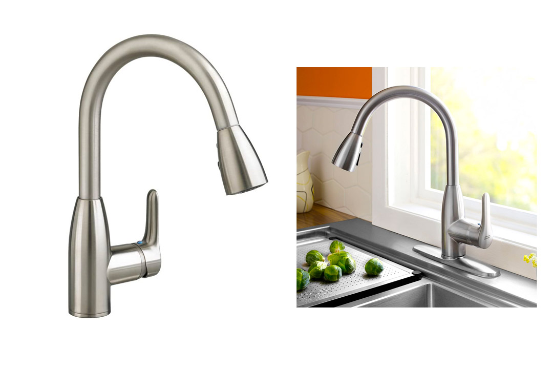 American Standard 4175.300.075 Colony Soft Pull-Down Kitchen Faucet
