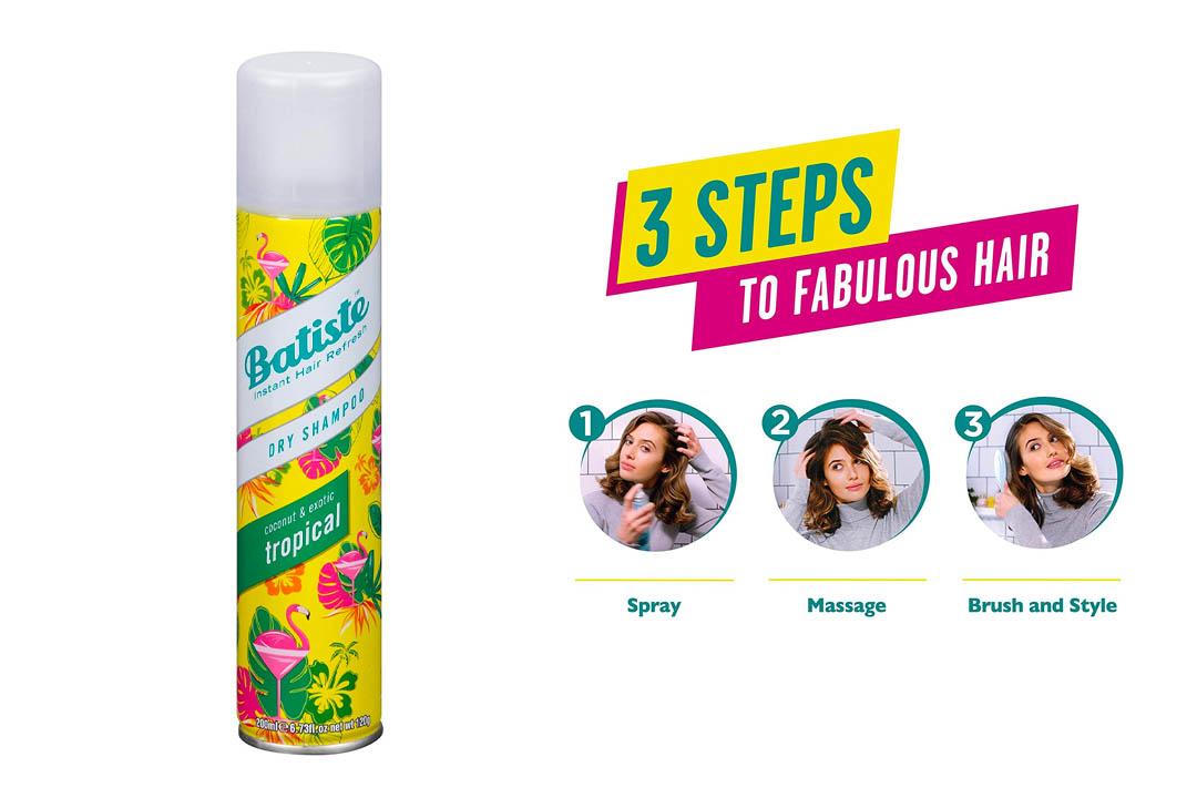 Batiste Dry Shampoo Tropical