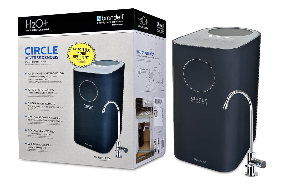 Brondell H2O+ Circle Water Saving Reverse Osmosis Water Filter System