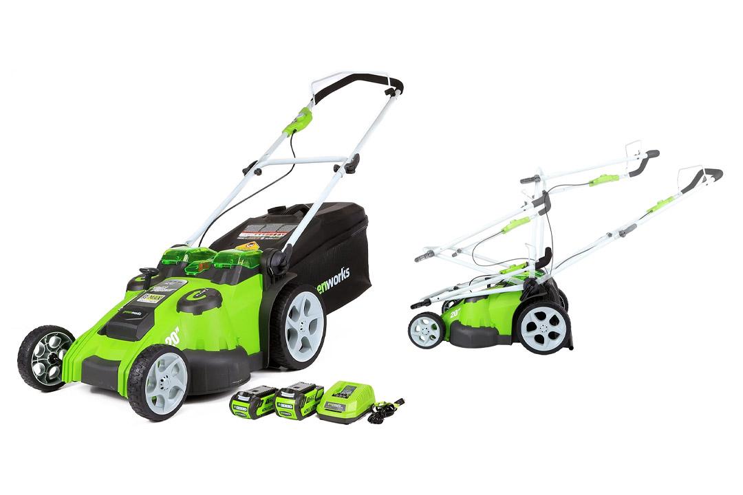 GreenWorks 25302 G-MAX 40V Twin Force