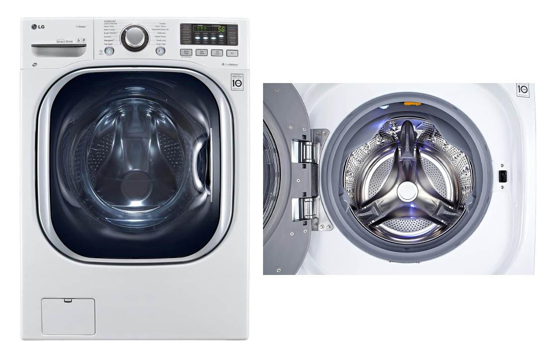 LG WM3997HWA Ventless 4.3 Cu. Ft. Capacity Steam Washer/Dryer