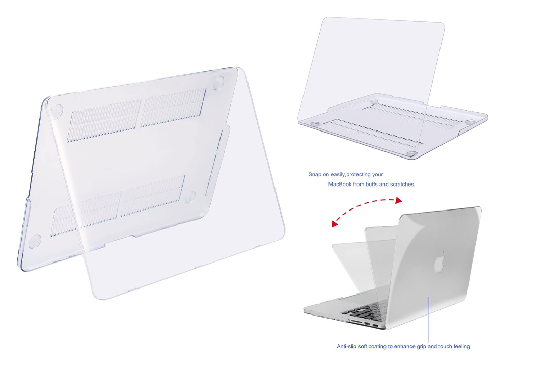MOSISO Plastic Hard Shell Case Cover Only Compatible MacBook Pro (W/O USB-C) Retina 13 Inch