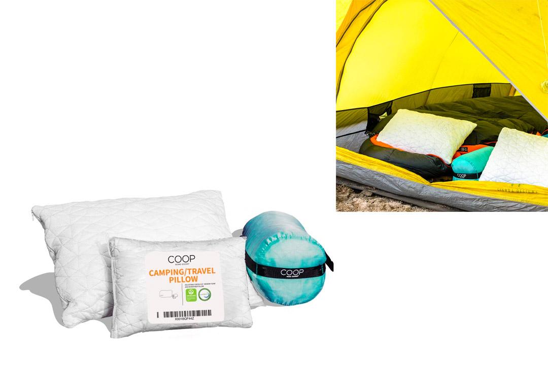 Premium Shredded Memory Foam Camping And Travel Pillow