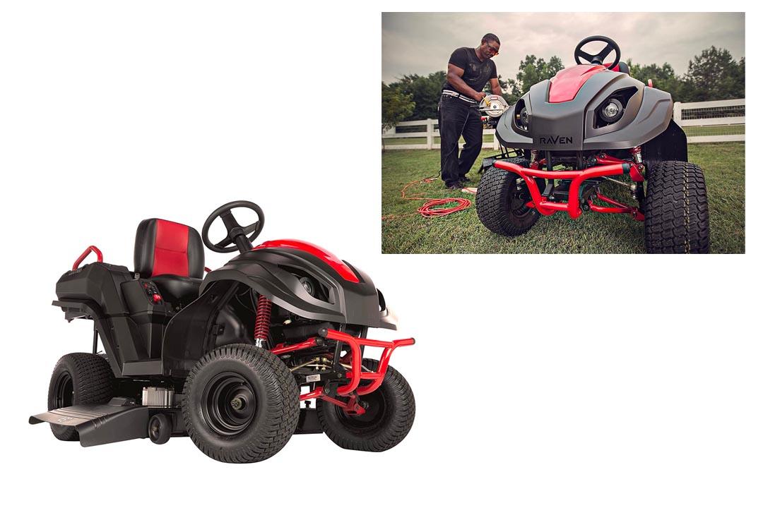 Raven MPV7100 Hybrid Riding Lawnmower Power Generator