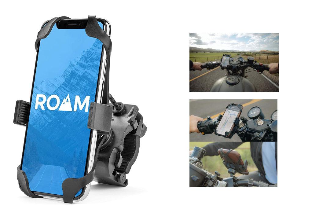 Roam Universal Premium Bike Phone Mount for Motorcycle - Bike Handlebars